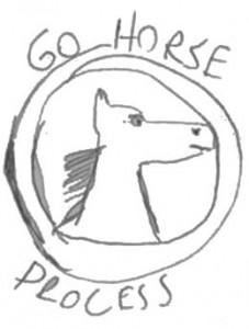 Go Horse White