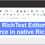 Site-specific RichText Editor Profiles - custom Source in native RichText fields