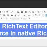 Site-specific RichText Editor Profiles - custom Source in native RichText fields