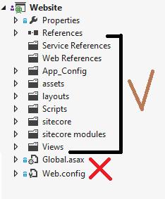 VS Solution Sync Folders