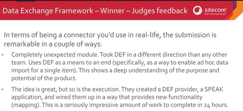 WikiDX - Judges feedback